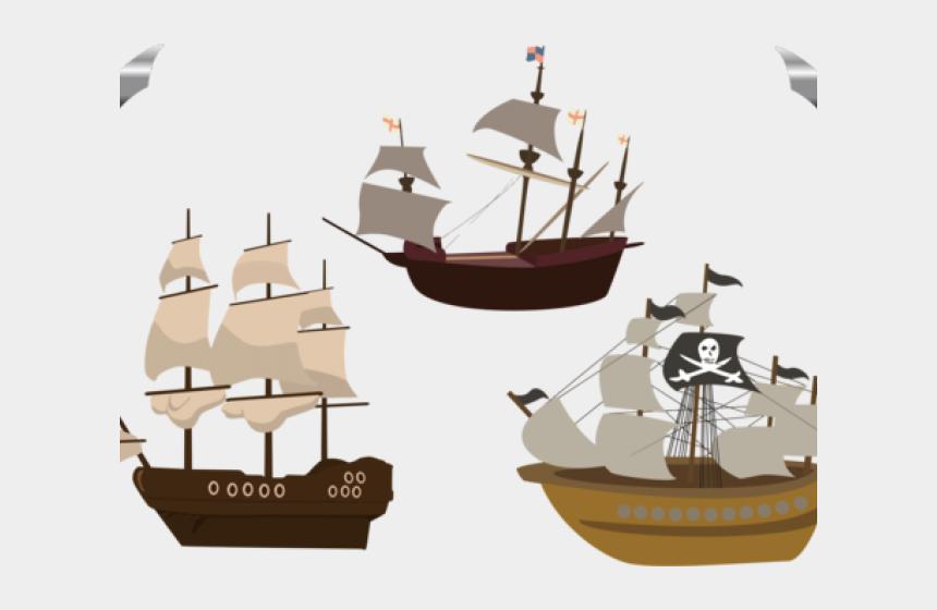 sailing boats clipart, Cartoons - Sailing Boat Clipart Ship Wheel - Pirate Ship Clipart Png