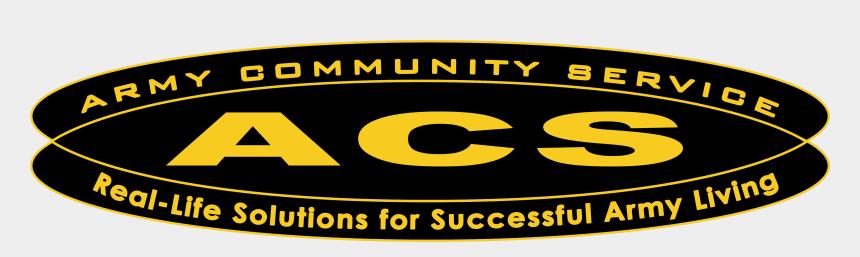 community service clipart, Cartoons - Logo, Army Community Service, Png Format, Transparent, - Army Community Service