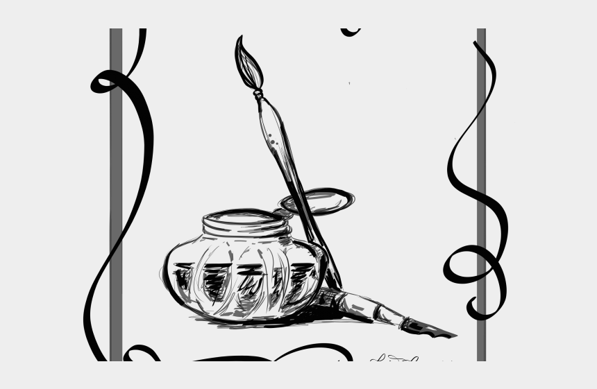 calligraphy clipart, Cartoons - Calligraphy Clipart Curlicue - Drawing