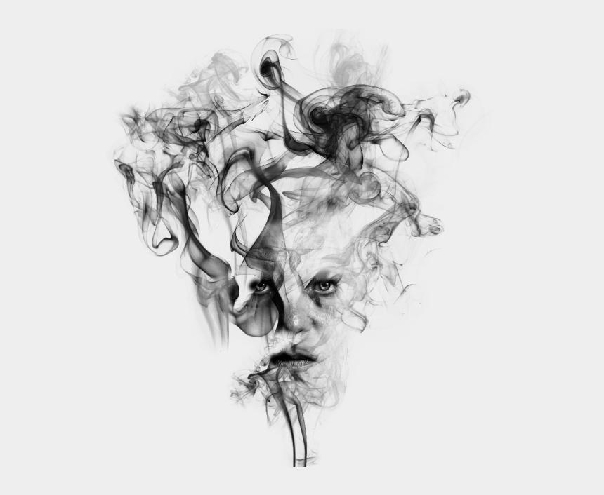 smoke clipart black and white, Cartoons - Smoke Effect Clipart Tranparent - Smoke Effect