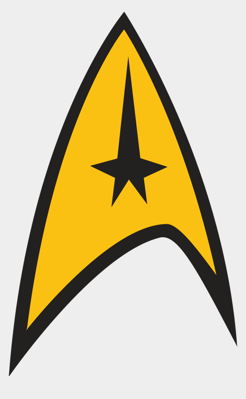 yellow stars clipart, Cartoons - Yellow Star - Star Trek Captain Logo