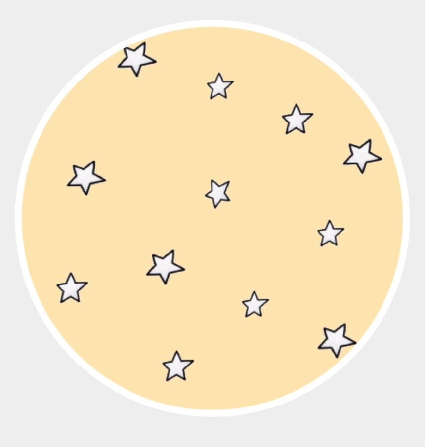 yellow stars clipart, Cartoons - #yellow #stars #pastel #aesthetic #freetoedit - Circle