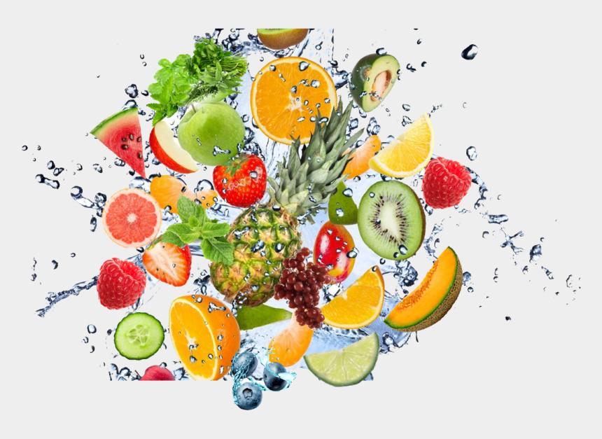 mix clipart, Cartoons - Fruit Water Splash Png Clipart - Fruits Water Splash Png