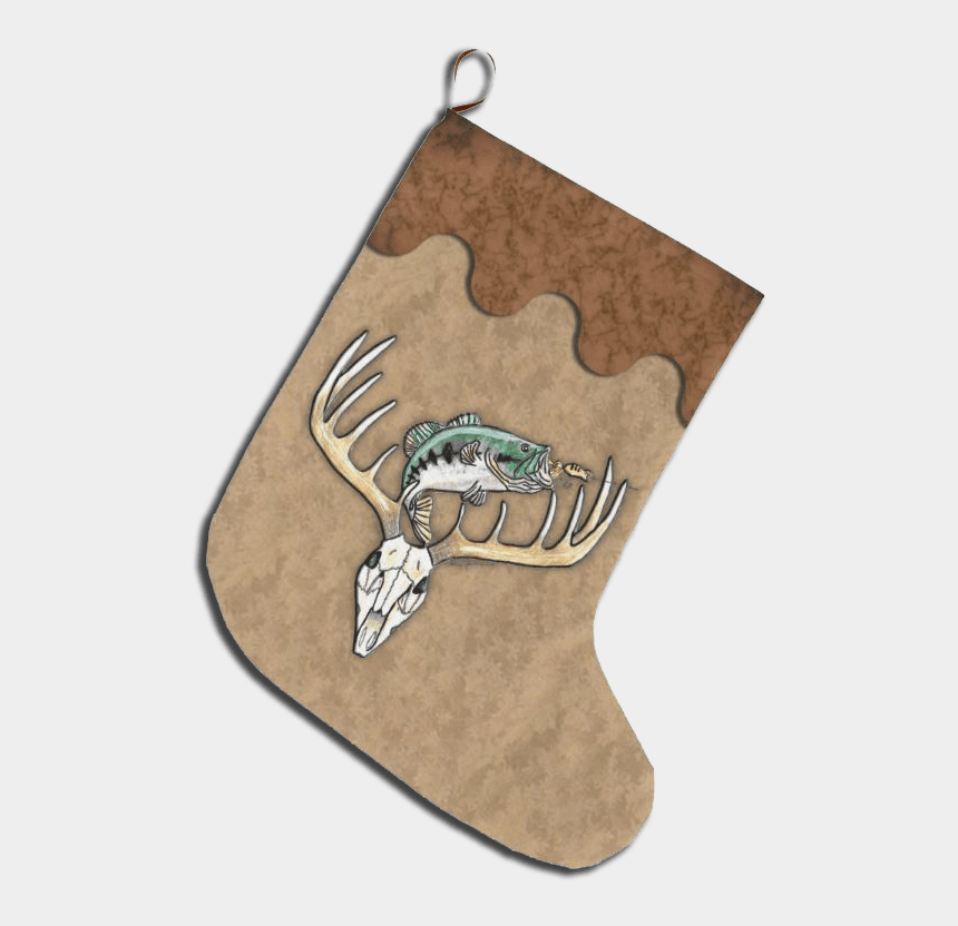 manta ray clipart, Cartoons - Deer Antlers Png - Christmas Stocking