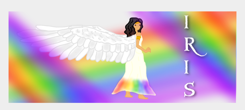 greek mythology clipart, Cartoons - Iris Goddess Pencil And - Draw The Goddess Iris