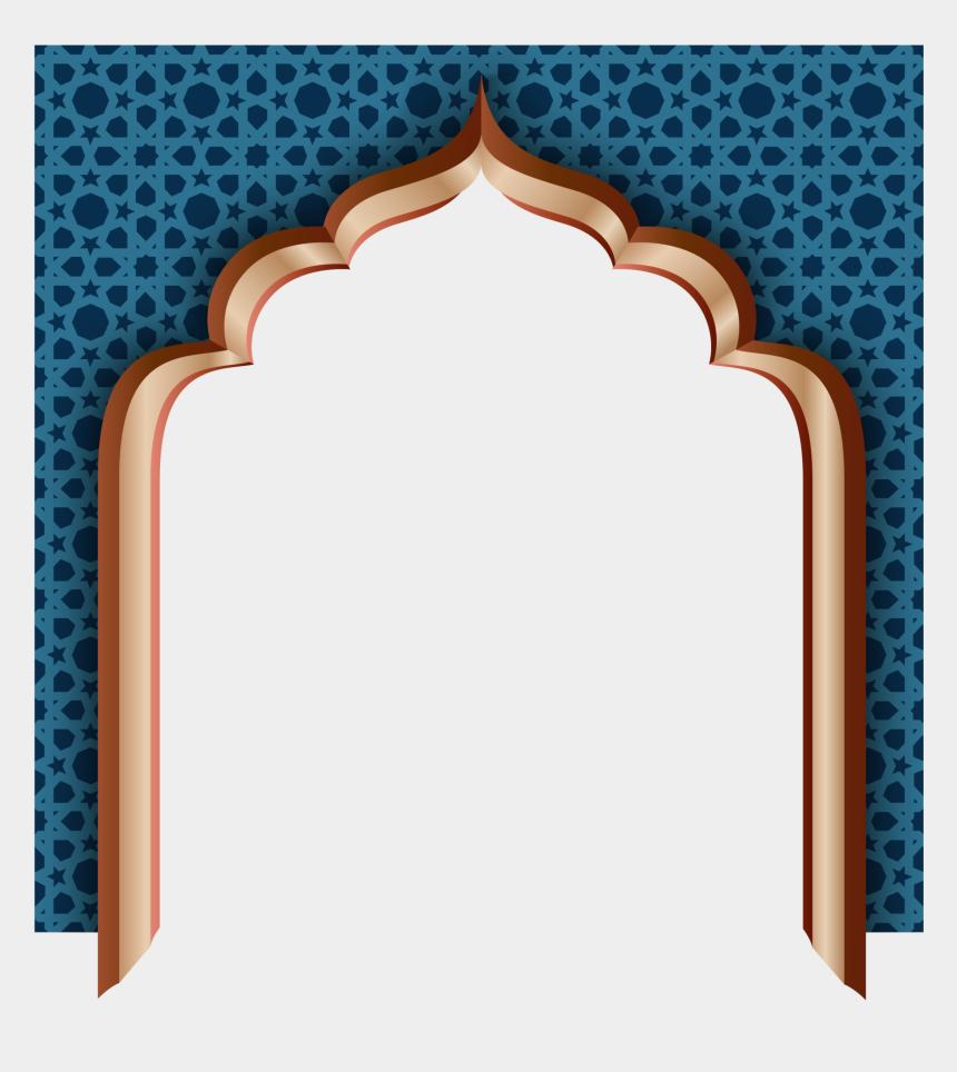 ramadan clipart, Cartoons - Blue Door Mubarak Wall Ramadan Al-adha Eid Clipart - Eid Mubarak Masjid Png