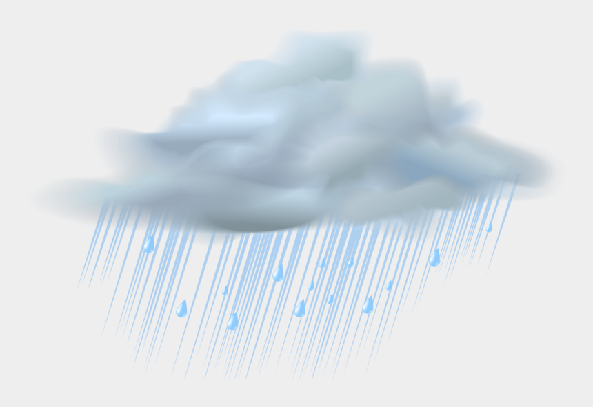 rain clouds clipart, Cartoons - Blue Sky Wallpaper - Rain Clip Art Transparent