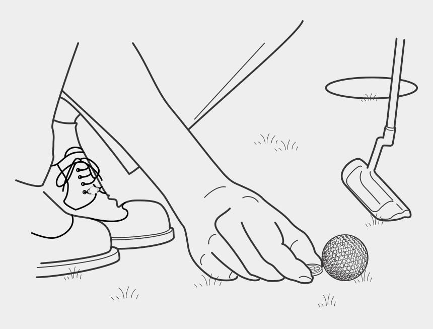 golf clubs clipart, Cartoons - Club Clipart Golf Ball Tee - Golf Ball