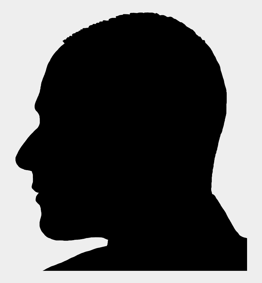 disappointed clipart, Cartoons - Silhouette Man Head In Profile - Man Head Silhouette Png