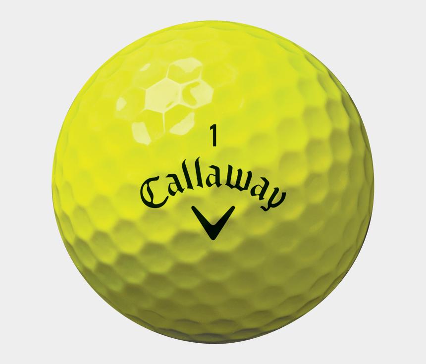 golf clubs clipart, Cartoons - Callaway Chrome Soft X Yellow Golf Balls Reviews Amp - Yellow Callaway Golf Ball