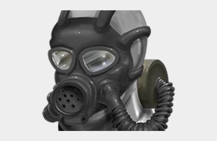 gas mask clipart, Cartoons - Drawn Gas Mask World War 2 - Gas Mask