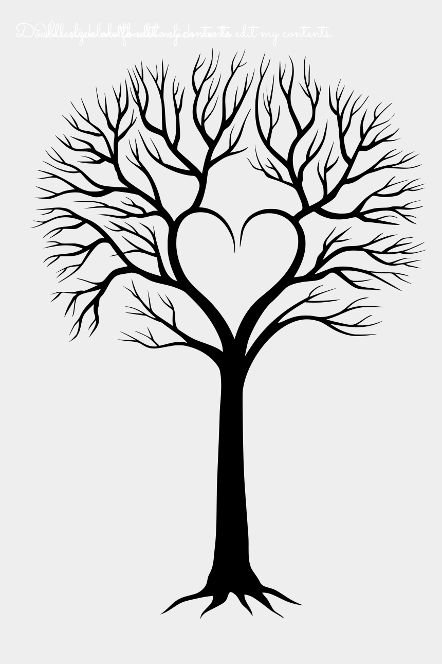family tree with people clipart, Cartoons - Tree With Roots Vector Png - Family Tree With Roots Clipart