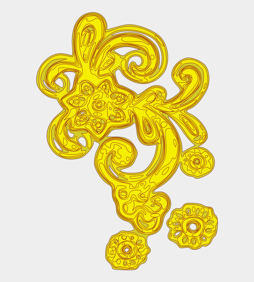decorative border clipart, Cartoons - Blue And Orange Decorative Swirl Border Svg Clip Arts - Valentines Day Border Png