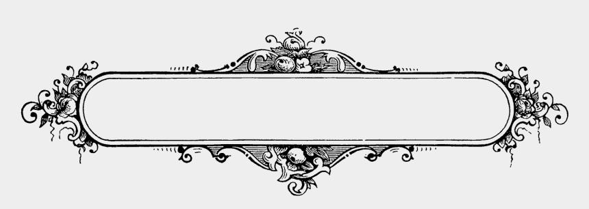 decorative border clipart, Cartoons - Label Border Frame Decorative Design Printable Clipart - Decorative Frame Design Png