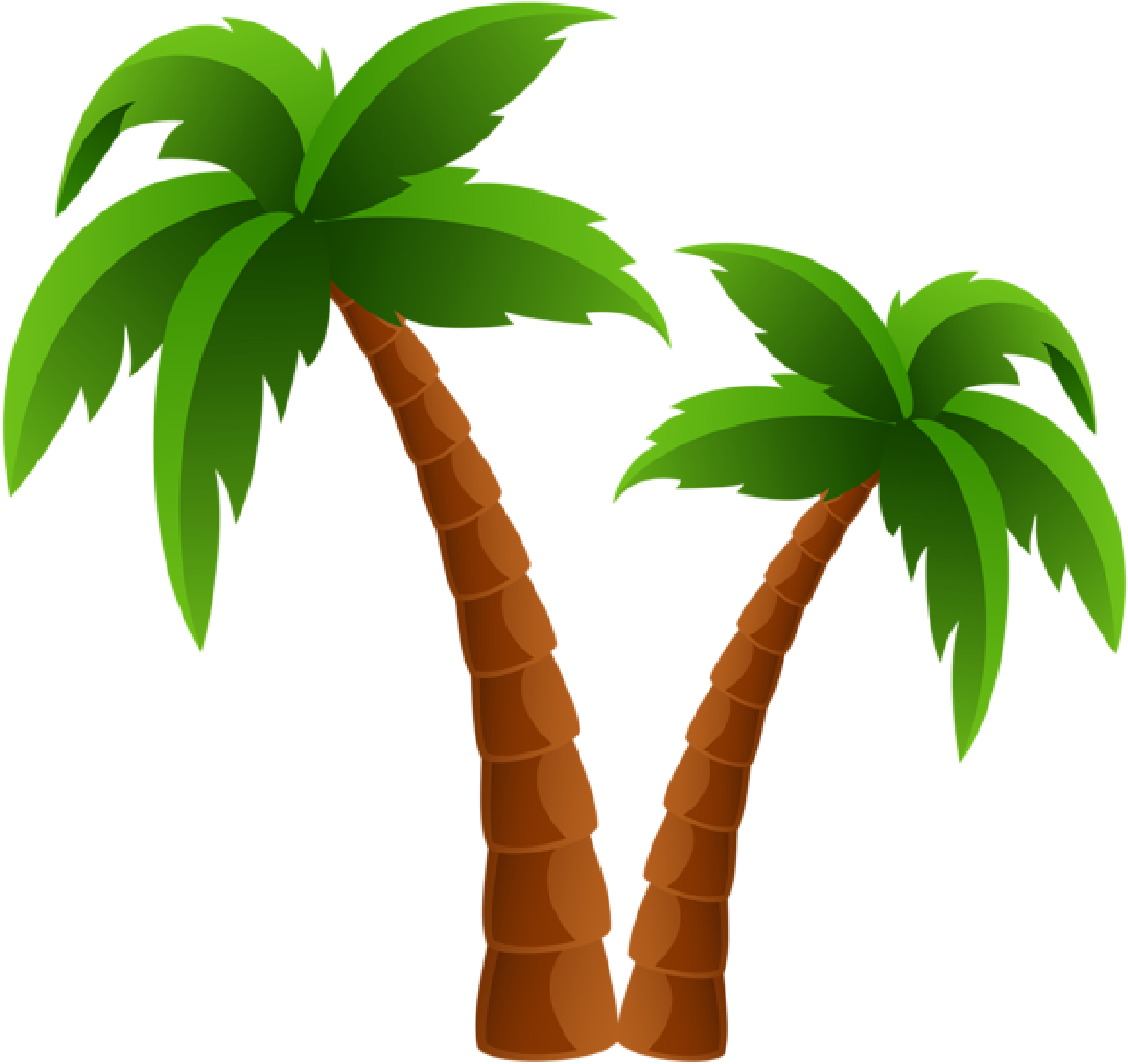 Transparent tree clip art - Palm Tree Clip Art And Cartoons On Palm Trees - Palm Tree Clipart Transparent Background