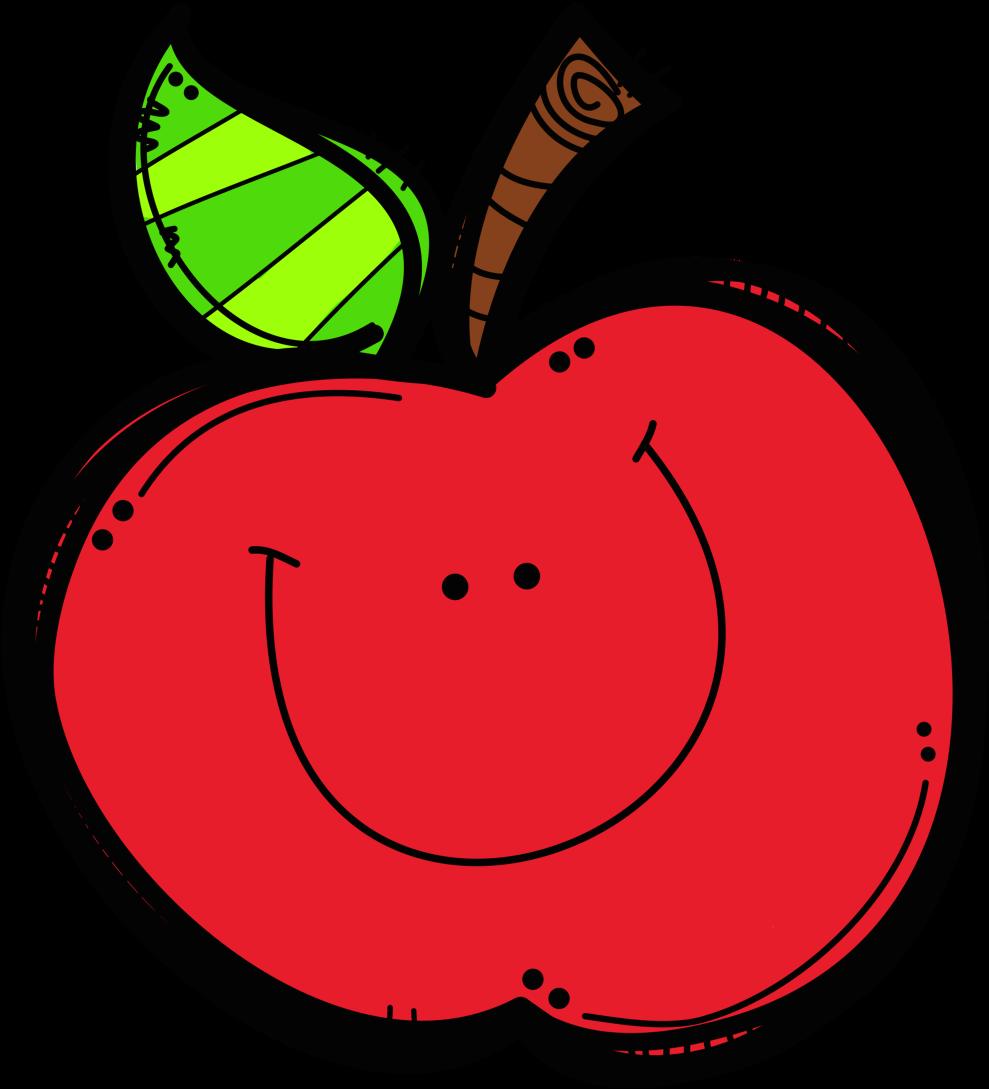 Transparent apple clip art - Preschool, Kindergarten, And Elementary Ideas Apple - Cute Apple Clip Art