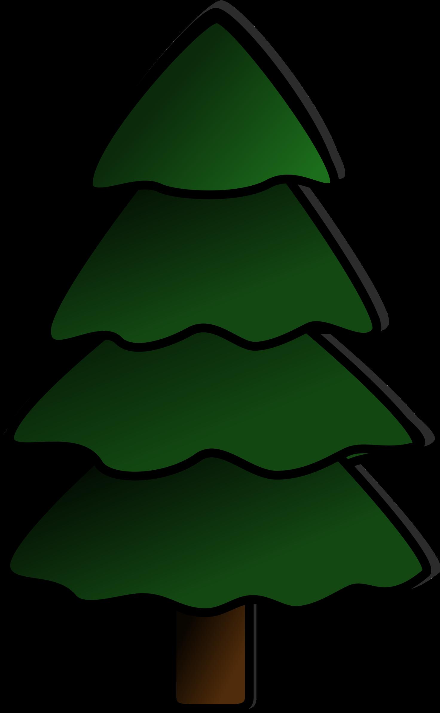 Transparent tree clip art - Pine Tree Clip Art - Simple Pine Tree Clipart
