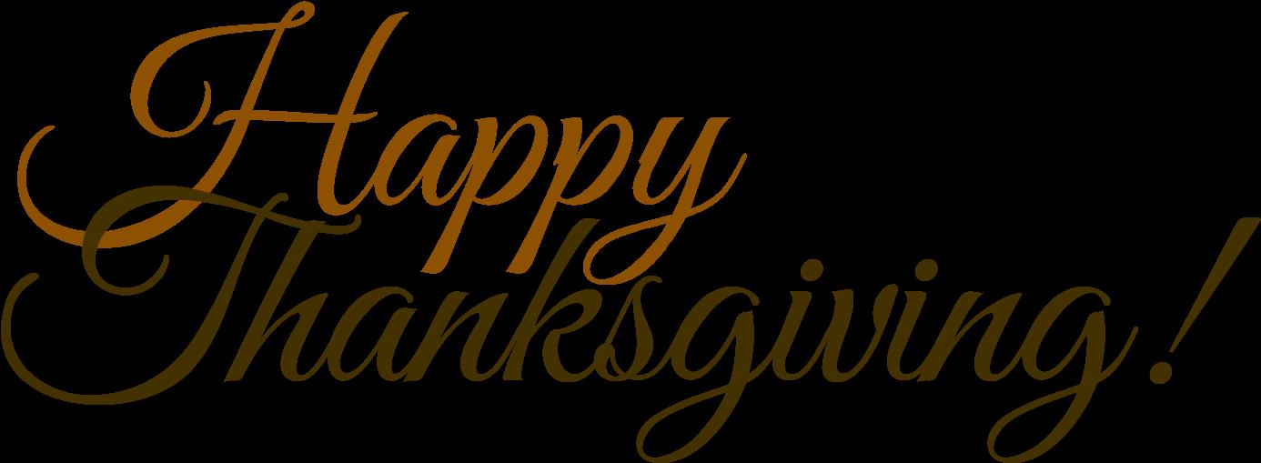 Transparent thanksgiving clipart - Happy Thanksgiving Clipart Wishes - Office Closed For Thanksgiving