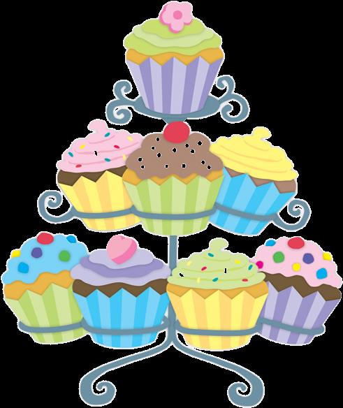 Transparent cupcake clipart - Gateaux,tubes Cupcake Images, Cupcake Pictures, Cupcake - Cupcake Tower Clip Art