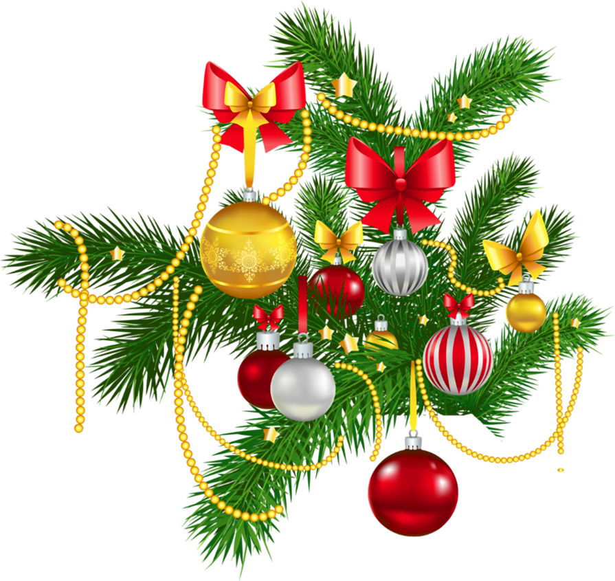 Transparent christmas clipart - Transparent Christmas Decoration Clipart - Clipart Christmas Decorations
