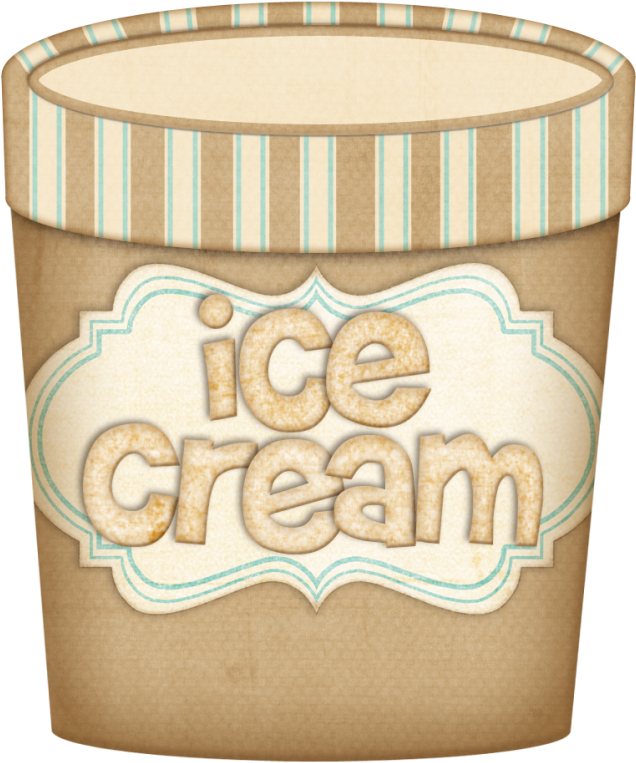 Transparent ice cream clipart - Rylee Made Up A Song About Ice Cream Today ❤ Food Clipart, - Box Of Ice Cream Clipart