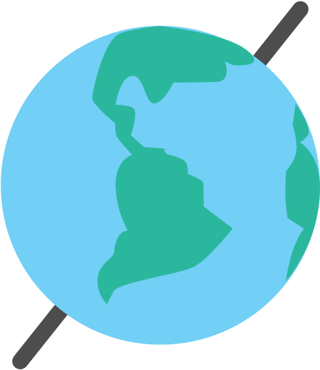 Transparent earth clipart - Spring Is About The Sol - Earth On Its Axis Clipart