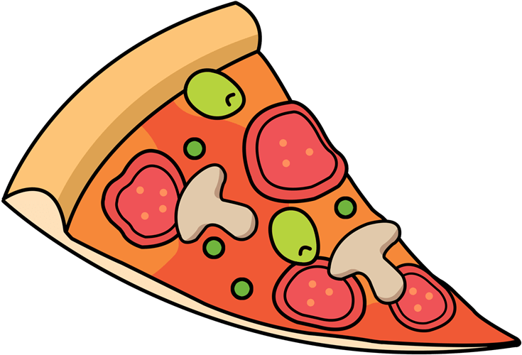 Transparent pizza clipart - Free Pizza Clipart Images - Slice Of Pizza Clipart