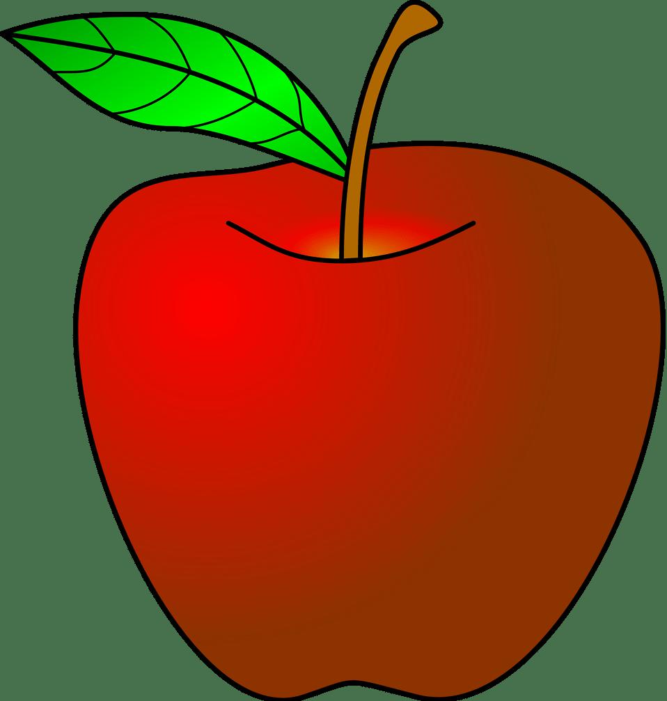 Transparent apple clip art - Apple Clip Art - Apple Clipart