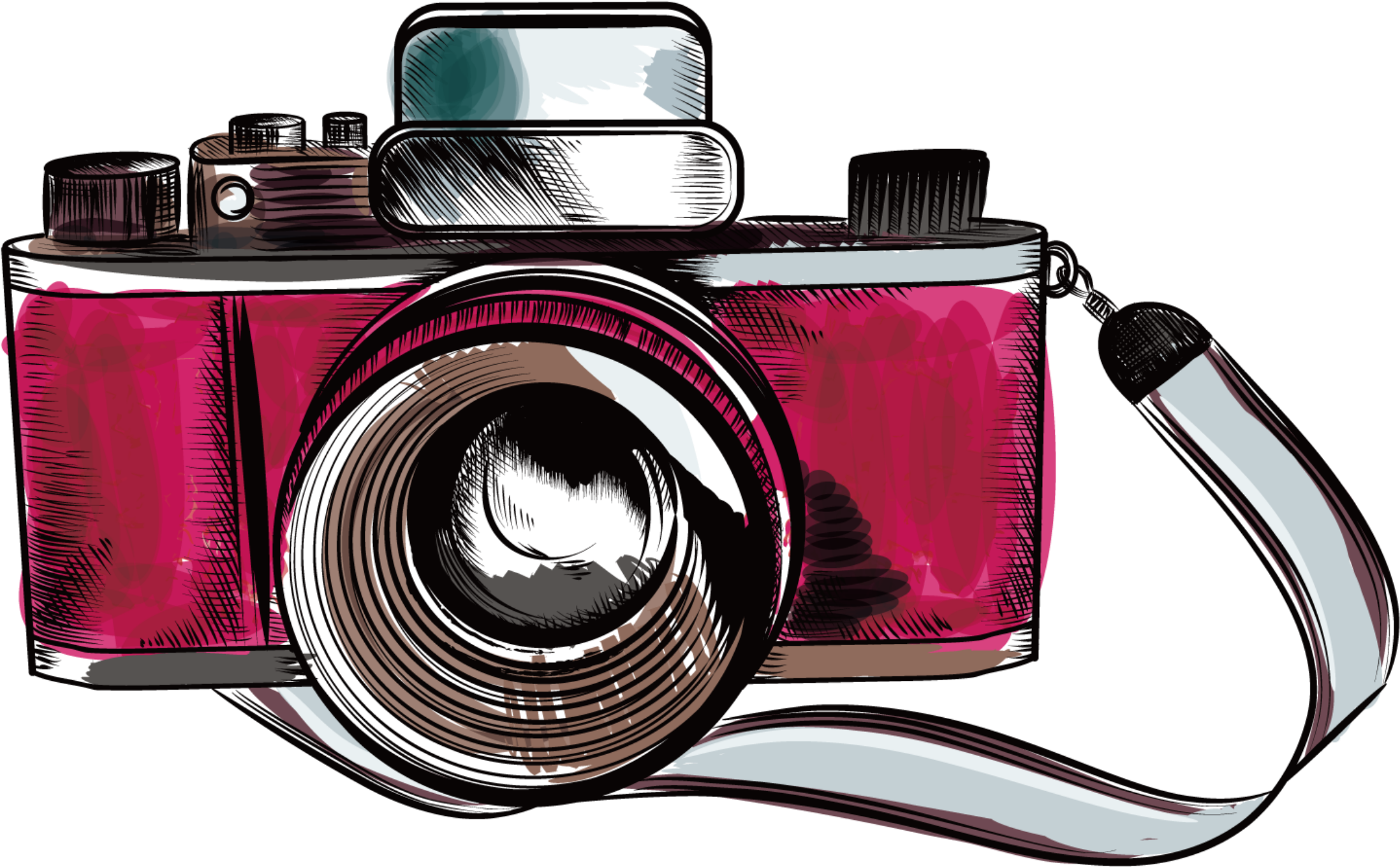 Old Camera Clip Art