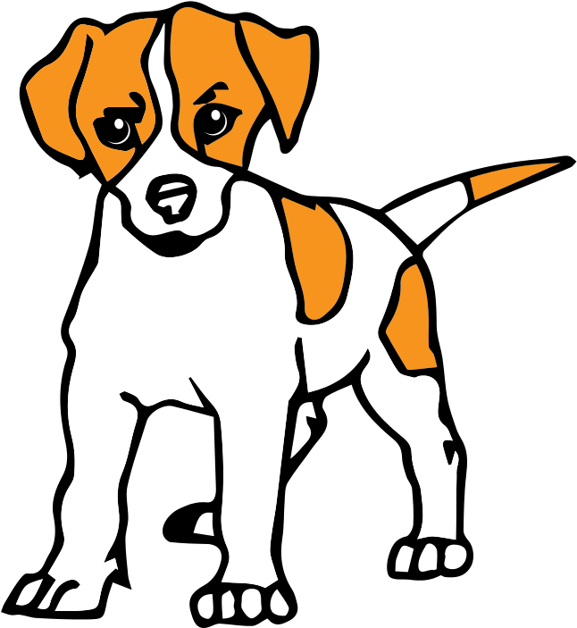 Dog Clipart Dessin De Chien En Couleur Transparent