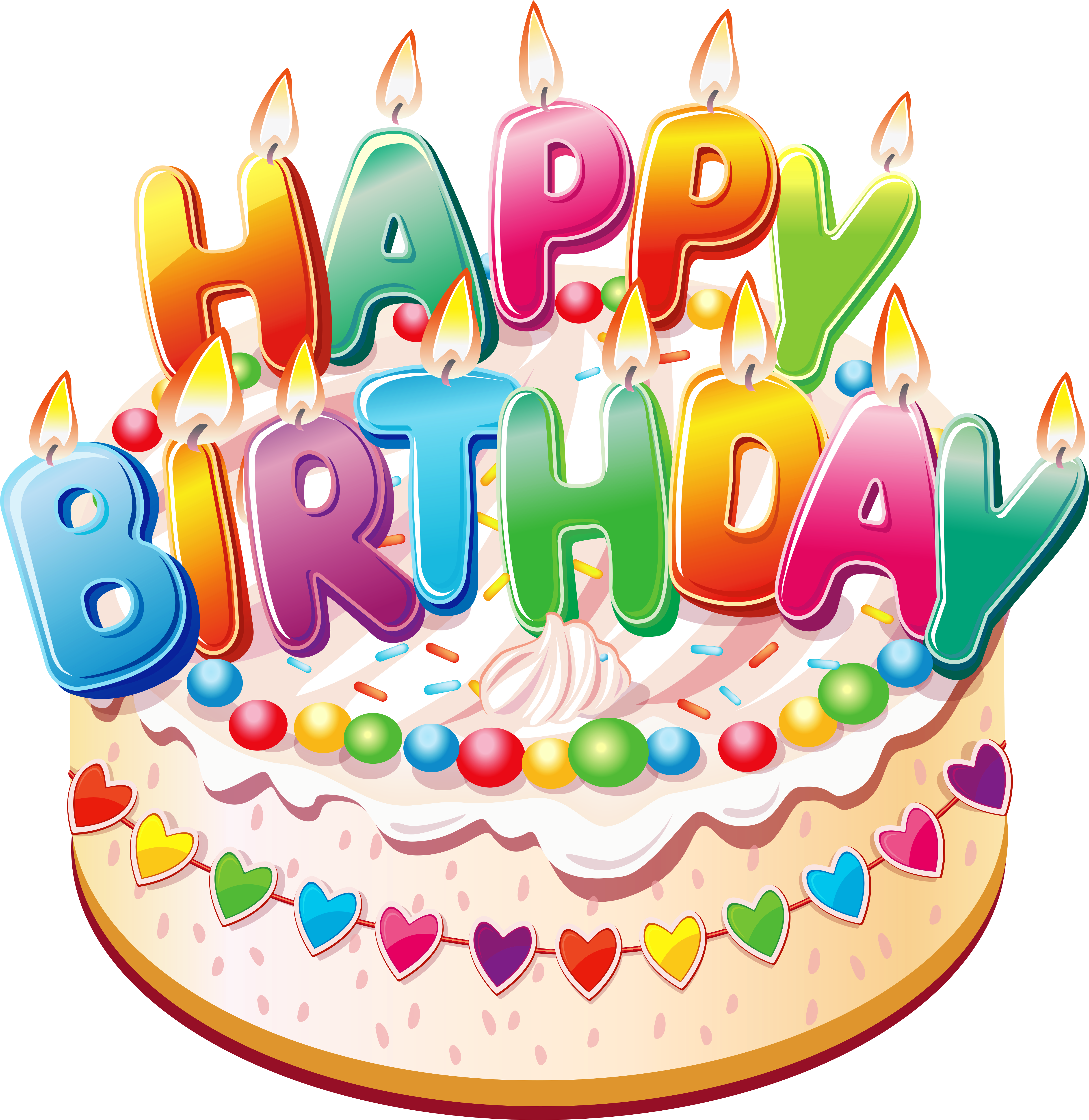 Transparent happy birthday clipart - Clipart Pictures Of Birthday Cakes Birthday Pictures - Happy Birthday Cake Png