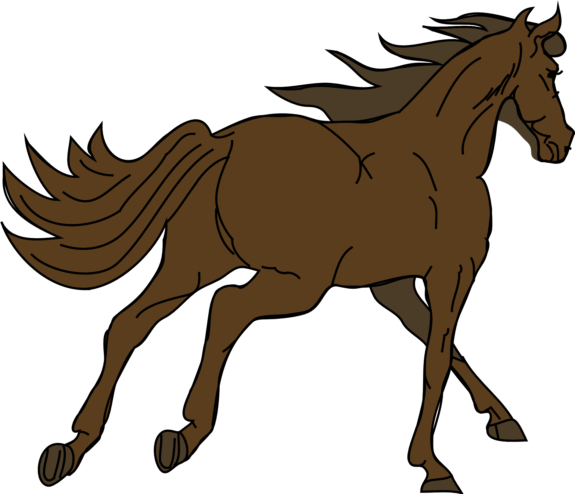Horse Jockey Clipart At Getdrawings Running Horse Png Gif Transparent Cartoon Jing Fm