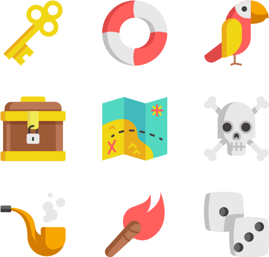 Transparent treasure chest clip art - Pirates