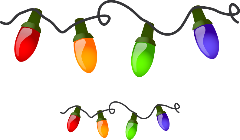 """Transparent christmas light clipart - This Post Contains Some Of The Best Collection Of """"animated - Christmas Lights Cartoon"""