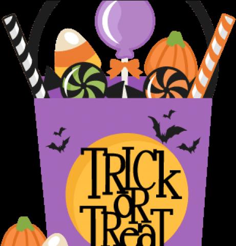 Boy Halloween Trick or Treaters Clip Art - Boy Halloween Trick or Treaters  Image