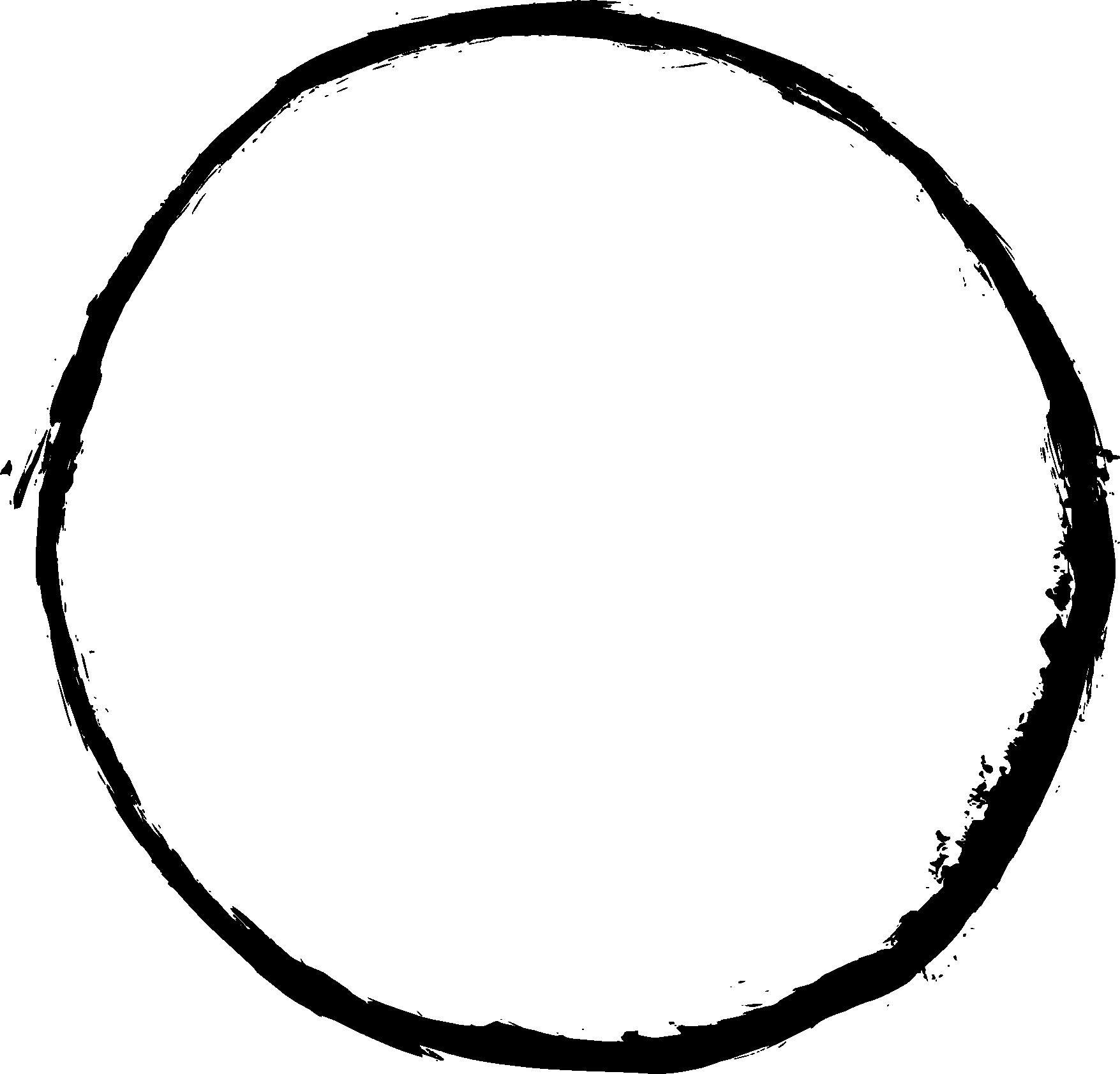 Transparent circle clip art - Grunge Frame - Transparent Background Circle Frame Png