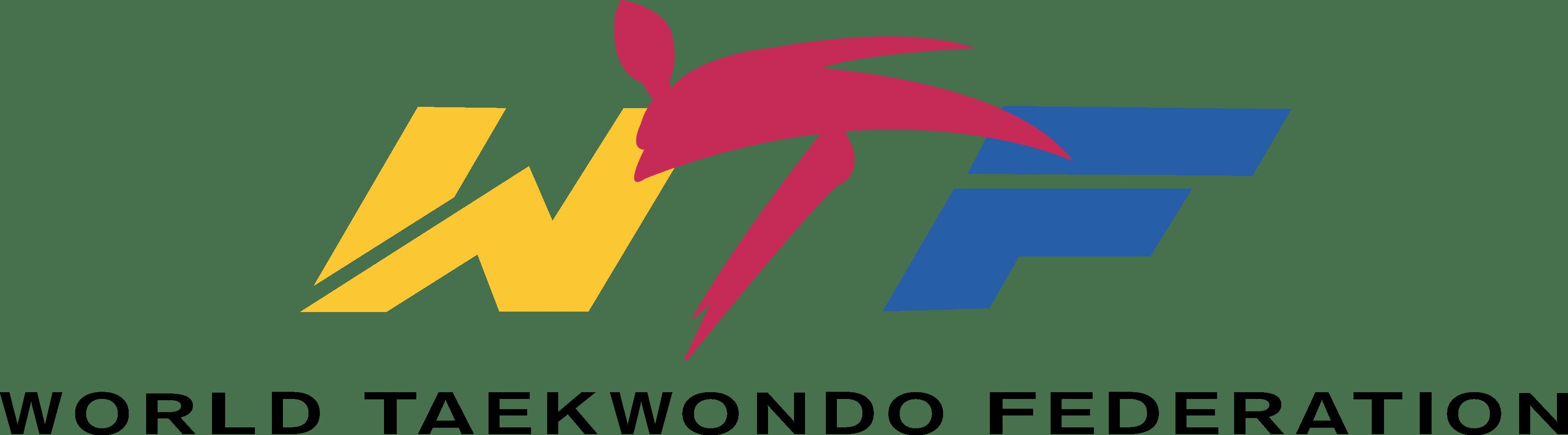 Transparent tkd clipart - World Taekwondo Federation Logo [wtf - Wtf Taekwondo Logo Vector
