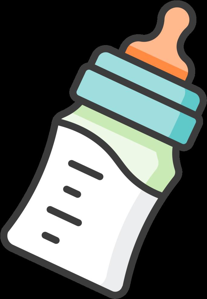 feeding - Baby Bottle Clip Art Transparent Png ...