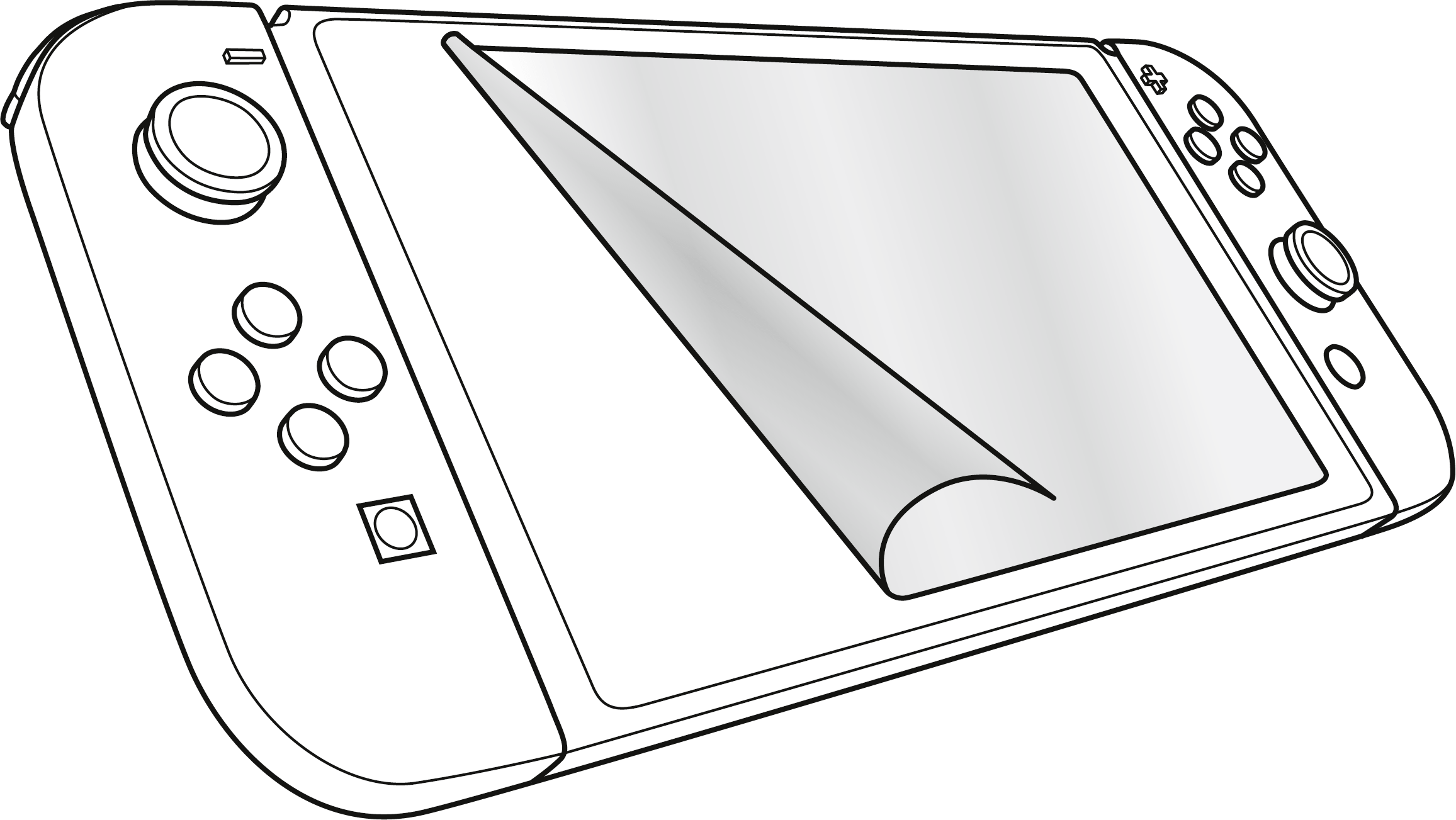 Video Game Nintendo Switch Coloring Page, Printable ...