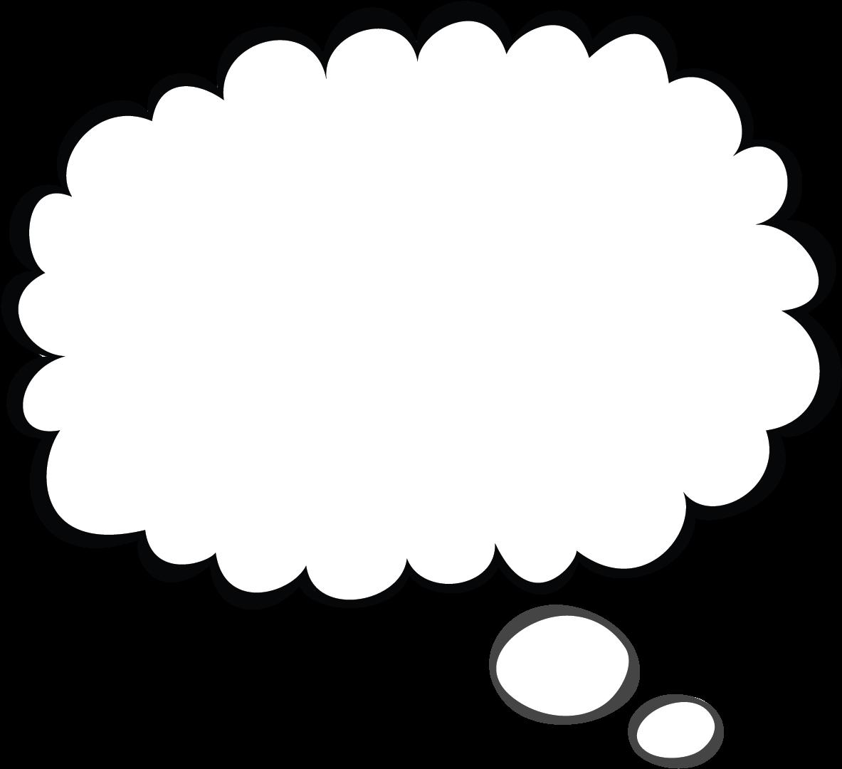 Thought Bubble Sketch Png Thought Bubble Png Transparent Transparent Cartoon Jing Fm