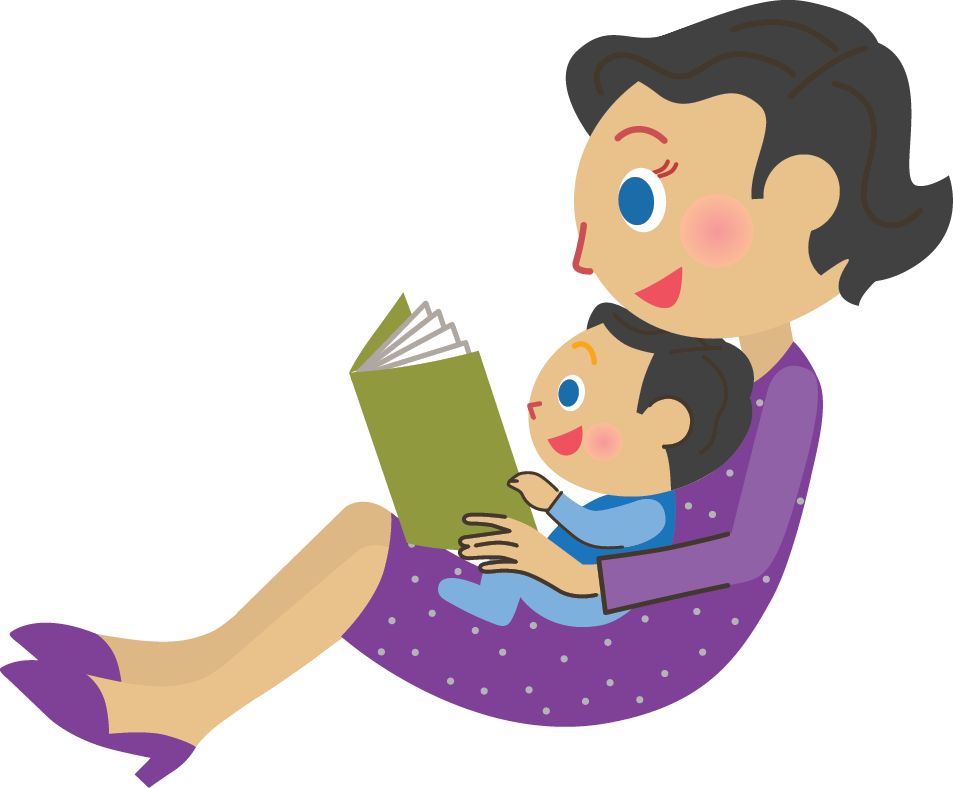 Mom Reading To Baby Clipart Of Mom Reading To A Baby Transparent Cartoon Jing Fm