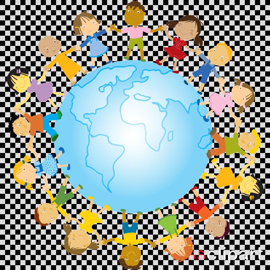 Transparent unity clipart - Unity World Clipart World Language Clip Art , Png Download - Kids Planet