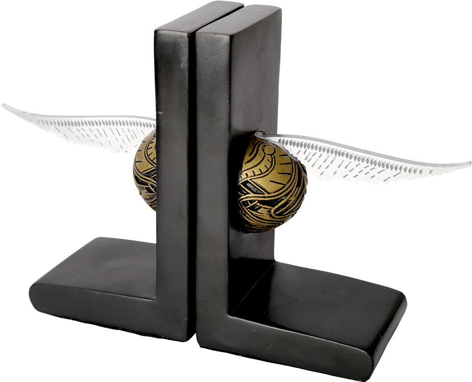 Golden Snitch Png - Harry Potter Platform Bookends ...