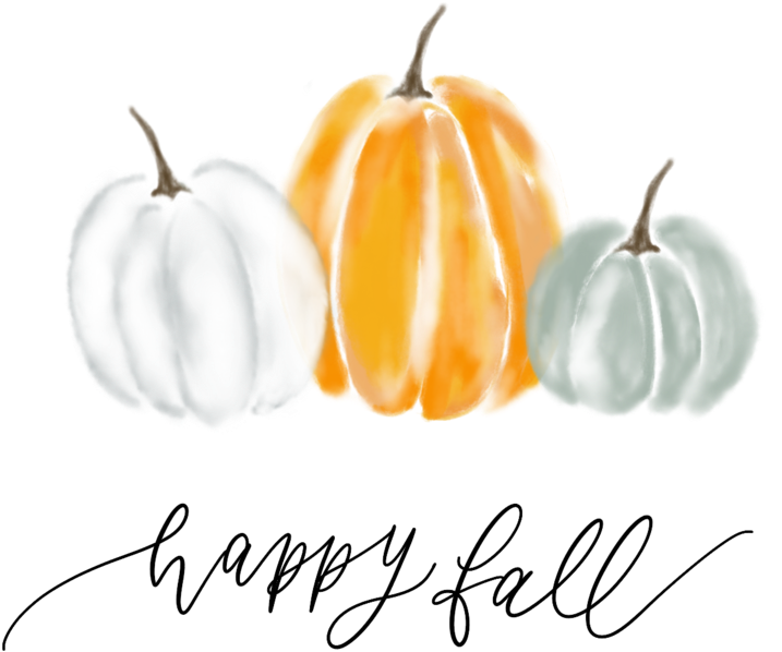Transparent happy fall clipart - Happy Fall Png