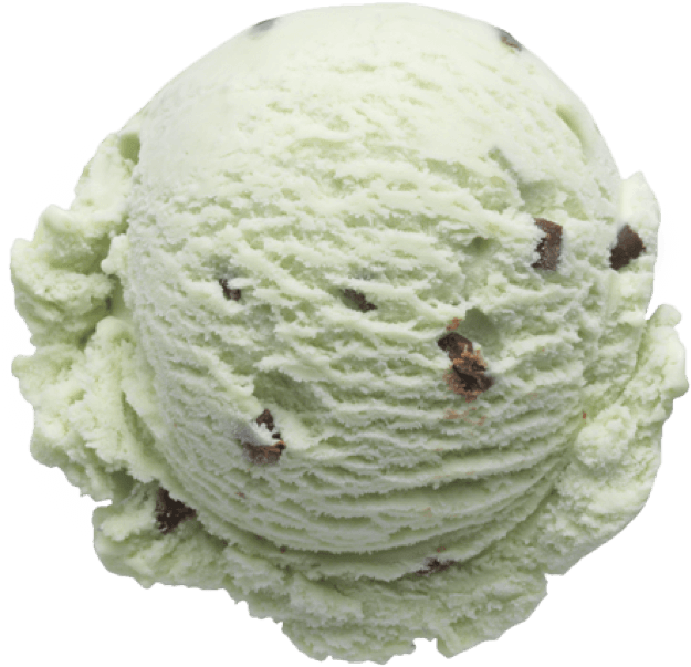 waffle cone ice cream - mint chocolate chip ice cream in a waffle cone PNG  image with transparent background   TOPpng