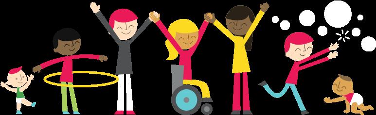 "Head Start's ""go Smart"" Tool Offering Physical Activities - Active Kids Png  , Transparent Cartoon - Jing.fm"