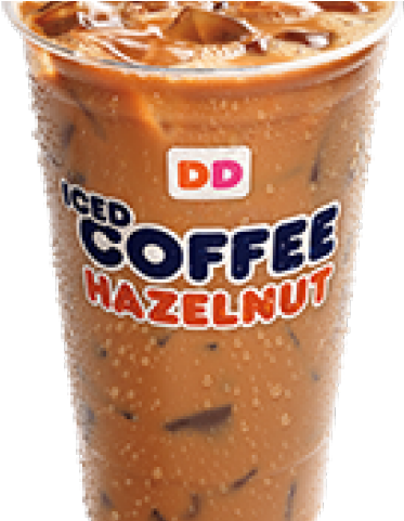 Transparent coffee and donuts clipart - Dunkin Donuts Clipart Cold Coffee Cup - Frappé Coffee