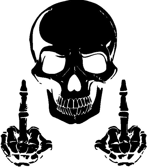 Tattoo Skull  Transparent Skull Clipart