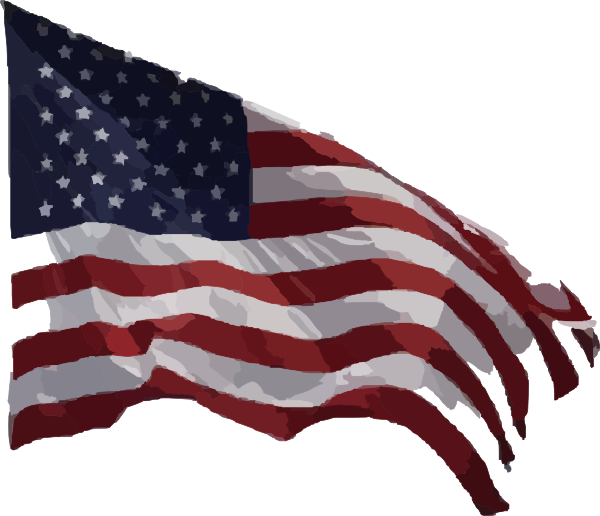 Transparent american flag clipart - Real American Flag Png