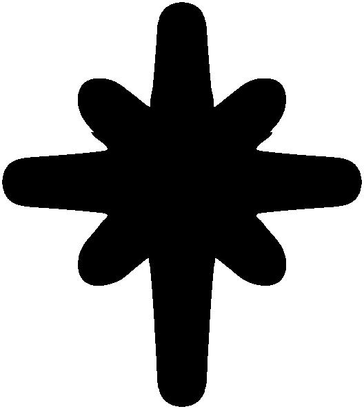 Transparent stars clip art - Solid Black Star Clipart - Symbol Captain Marvel Star